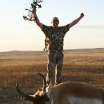 Montana trophy antelope archery hunts