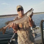 Fort Peck fishing guide Montana